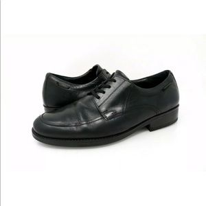 Mephisto Oxford Dress Shoes Air-Jet Black Leather